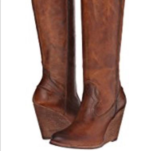 9077d76ed5e Frye CeCe tall wedge boot